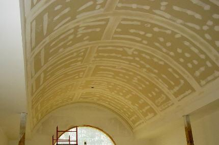 Home Barrel Vault MN Drywall Contractor