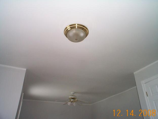 Smooth Ceiling Texture Home Drywall And Painting