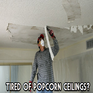 Popcorn Ceiling Removal MN